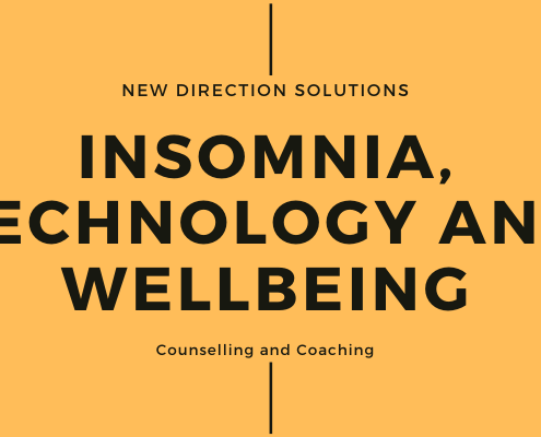 Title Insomnia, Technology annd Wellbeing